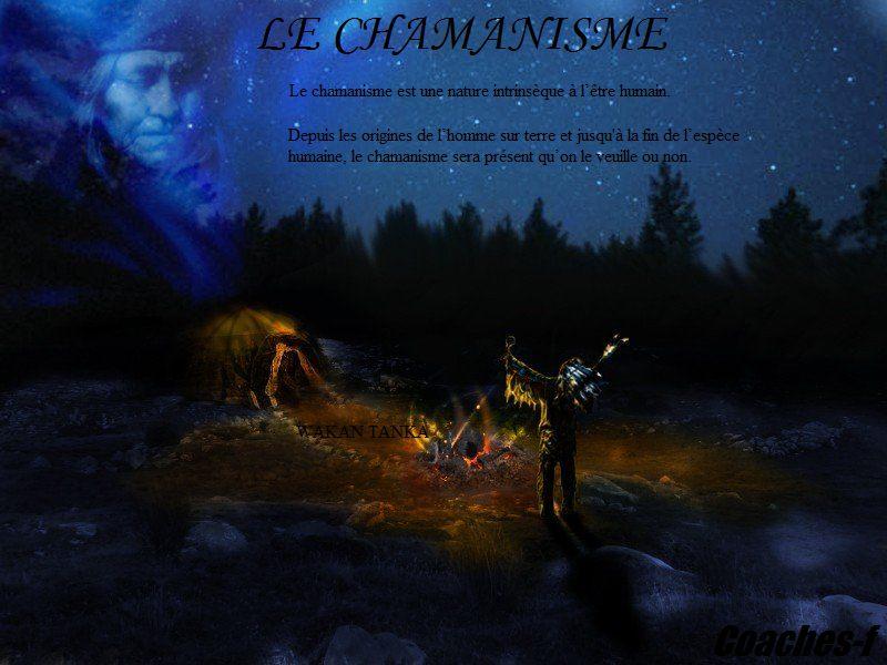 LE CHAMANISME AMÉRINDIEN