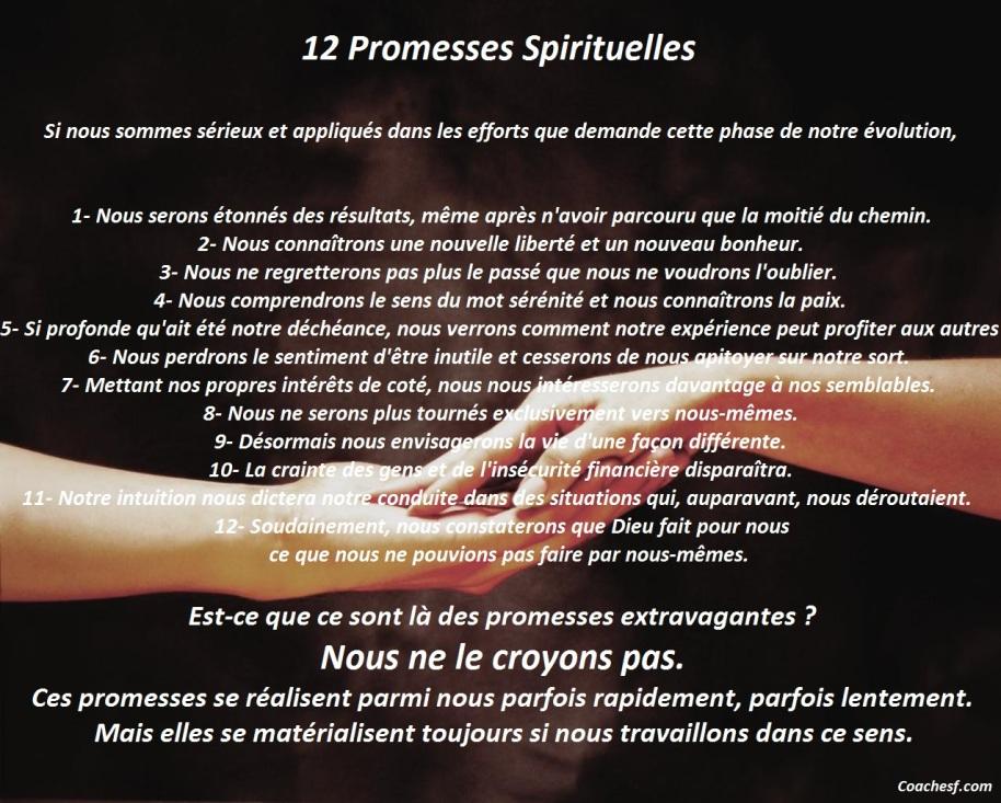 12 Promesses Spirituelles
