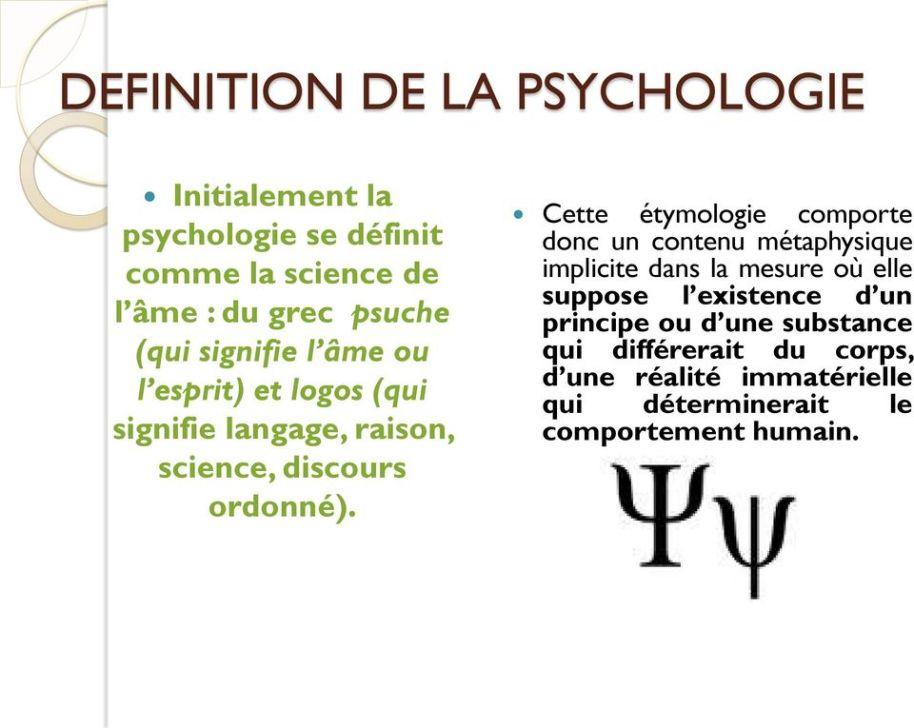 Psycho implicite